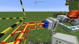 nEW! Minecraft FTB 1.12 EU to RF Converter BuildCraft Quarry 2019