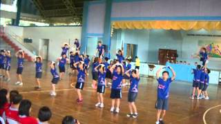 PSHS SMC Seniors cheerdance - Intrams 2013 (Blue Hydras)