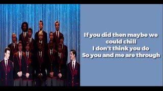 Glee - Bills, Bills, Bills (lyrics)