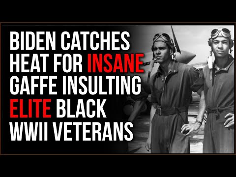 Biden Makes INSANE Mistake Insulting WWII Veterans, Confusing Them With Victims Of Tuskegee Study