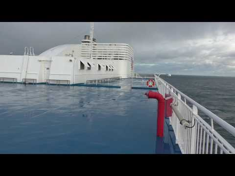 Brittany Ferries MV Armorique Arriving At Roscoff, Finistère, Brittany, France 6th November 2016