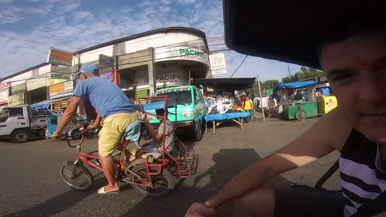 Honey enjoying riding tricycle in Iloilo City April 2016