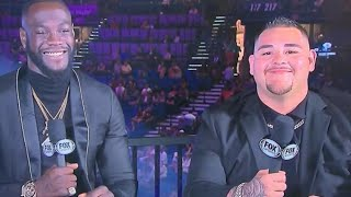 DEONTAY WILDER VS ANDY RUIZ FIGHT IS BIGGER THAN AJ FIGHT SAYS