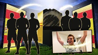 6 WALKOUTS IN 1 PACK OPENING!!! WHAT IS THIS LUCK? FIFA 18 Pack Opening thumbnail