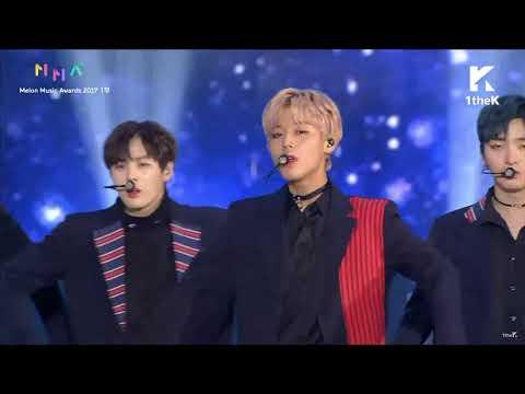 [171202 Melon Music Awards 2017] Wanna One (Nothing Without You + Beautiful + Burn It Up)
