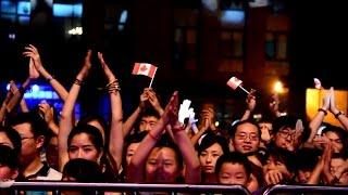 HANTV - TENILLE'S FIRST SHOW IN CHENGDU CHINA 2014