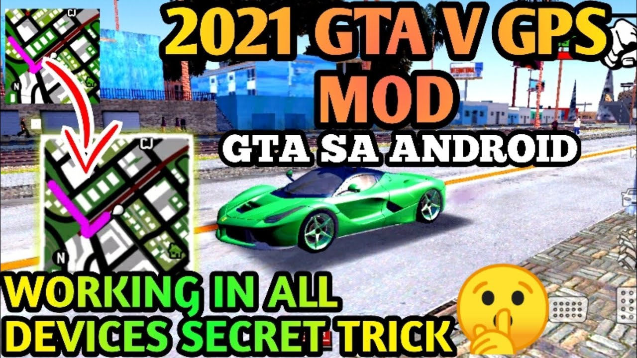 How To Add Auto Drive Mod In Gta Sa Android | Auto GPS Mod For Gta Sa Android | Gta San Andreas