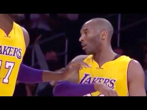 Kobe Bryant Slaps Away Roy Hibbert in Brutal Lakers Loss