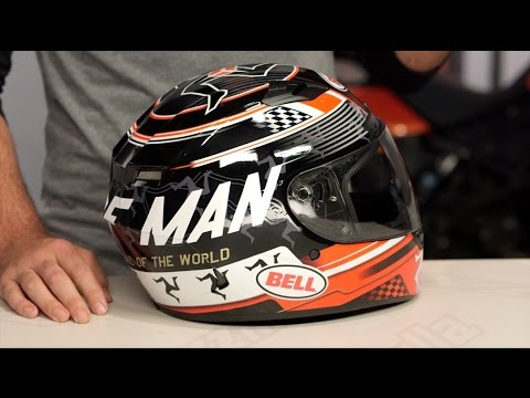 44d7d959 Bell Qualifier DLX Isle of Man Helmet Review at RevZilla.com - YouTube