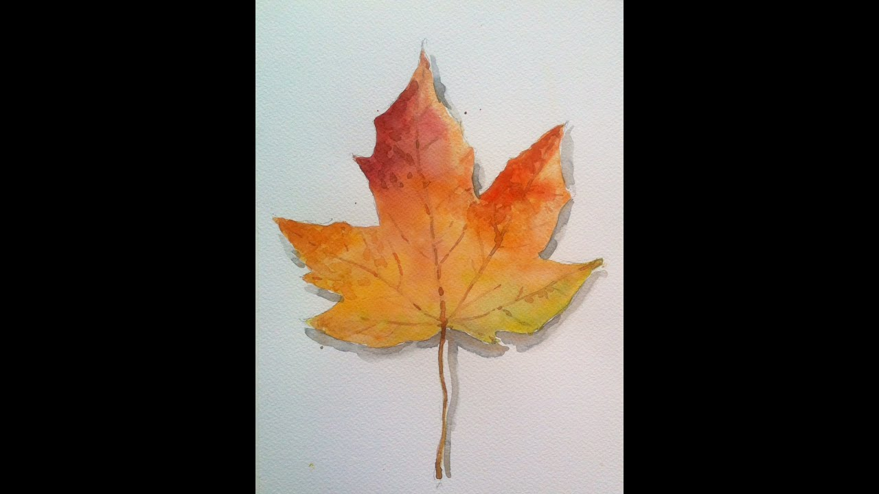how to make a maple leaf