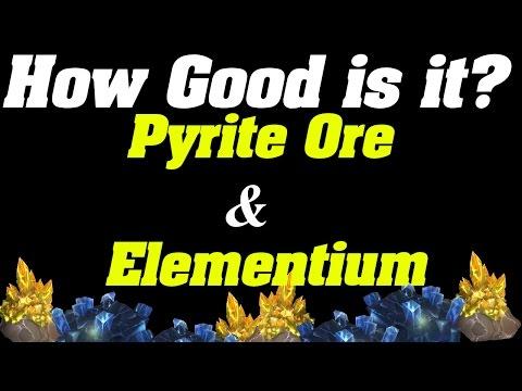 How Good is it? | Pyrite Ore & Elementium Ore | Goldfarming