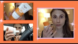 VLOG: TRYING OUT EUCERIN SUN CREAMS + A GROCERY HAUL| DR DRAY