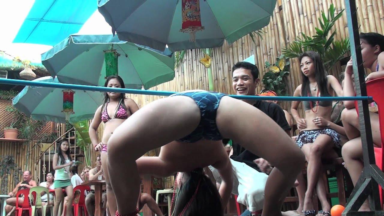Nude Limbo Dancing