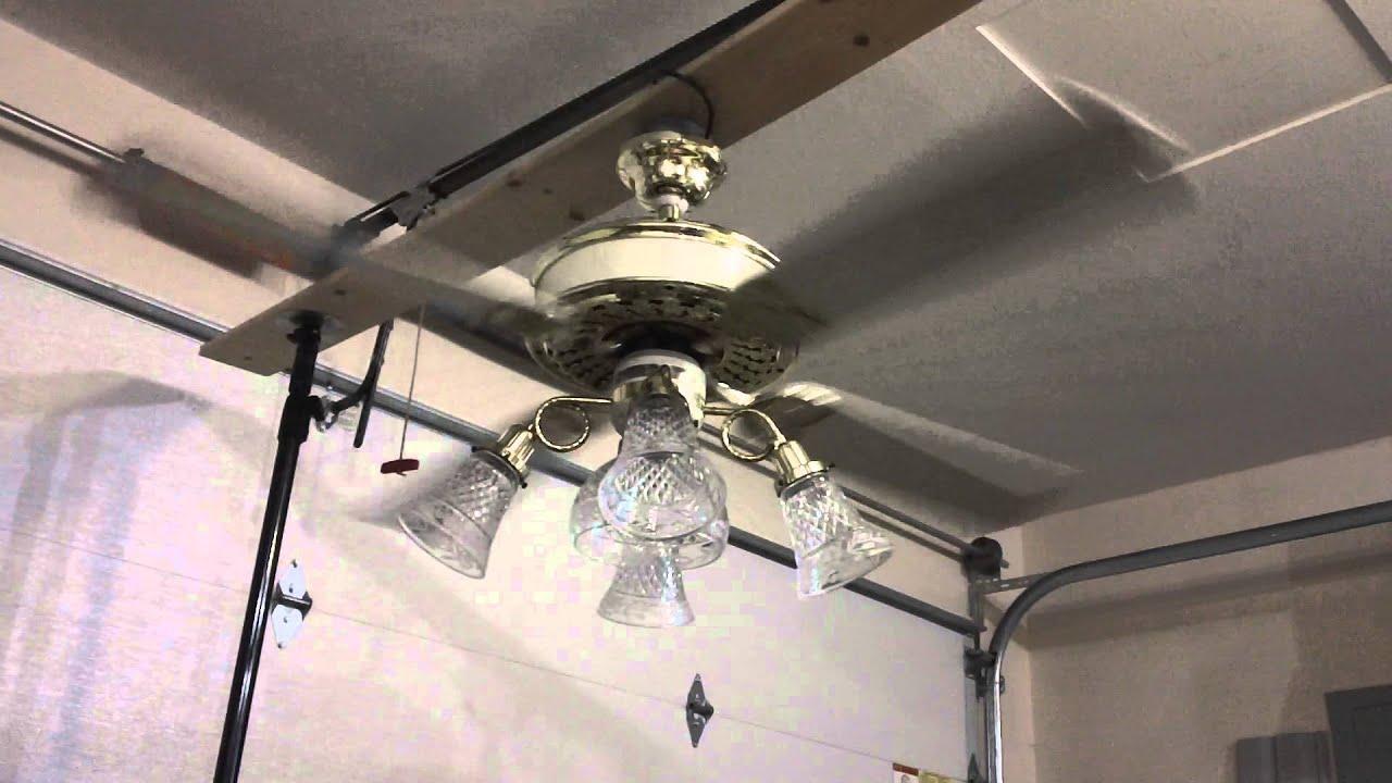 "52"" Casablanca Victorian Ceiling Fan Part 3 of 4"