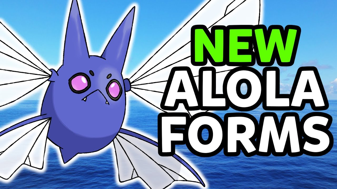 Alolan Crobat! Possible New Alola Form Pokemon for Pokemon Ultra ...