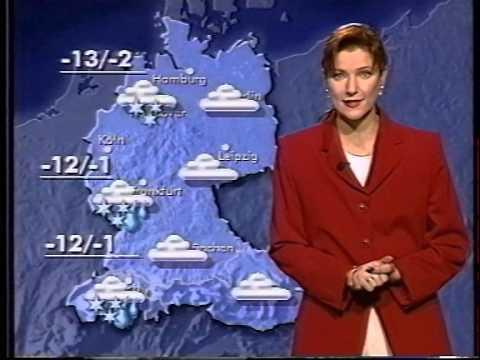 Présentatrice météo Allemande 90's
