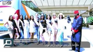 مصر العربية   ملكات جمال العالم يلتقطون صور تذكارية قبل ختام المهرجان