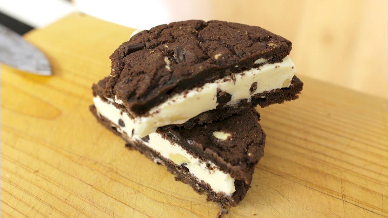 Cookie Ice Cream How To