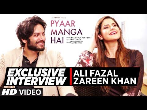 Exclusive  with Zareen Khan, Ali Fazal  PYAAR MANGA HAI  TSeries