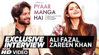 Exclusive Interview with Zareen Khan, Ali Fazal | PYAAR MANGA HAI | T-Series