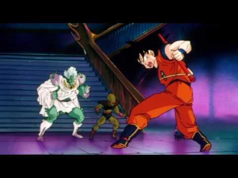 TFS - Goku, Krillin, & Piccolo vs Ginger, Cinnamon, & Pepper (Full Fight)