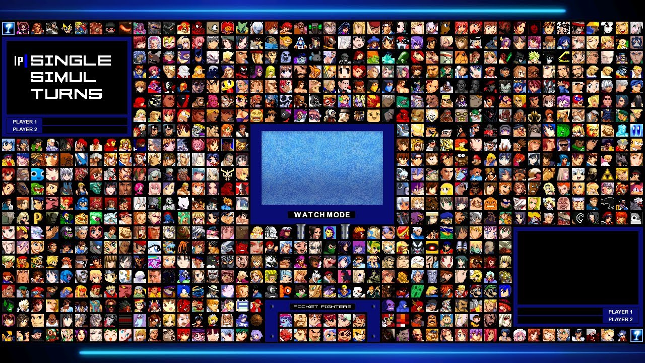 Mugen Hd Screenpack