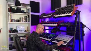 """Groove of the Day"" - 13th Feb 2019 - Mike Pensini (Keyscape, System-8, ARP Odyssey, Moog Sub 37)"