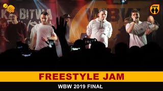 Jam  WBW 2019 Finał (Koro, Wueno, Spartiak, Quesh, Peus, Bonez)