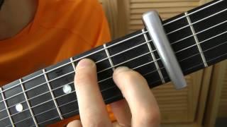 Cours de guitare - Georges Brassens : Le Parapluie (1/3) La grille du couplet