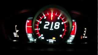 Volvo V40 Cross Country T5 AWD 2013 - acceleration 0-220 km/h