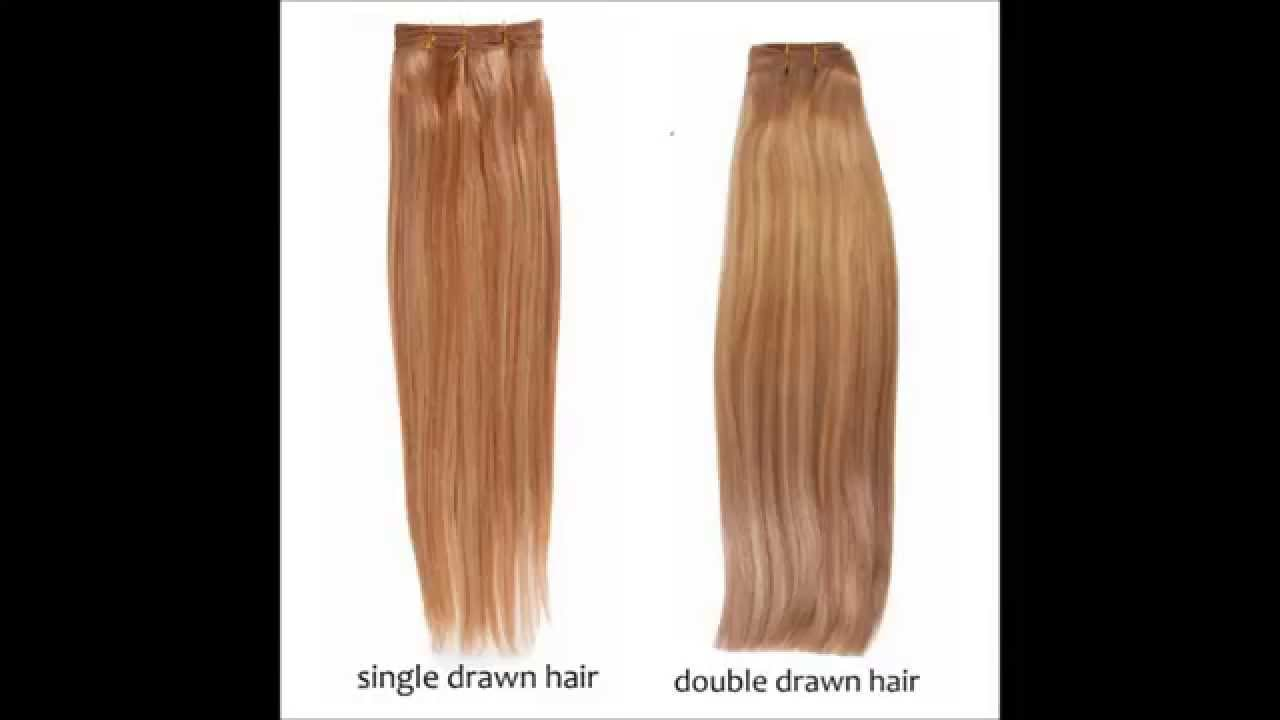 The difference between single drawn double drawn hair youtube the difference between single drawn double drawn hair pmusecretfo Images