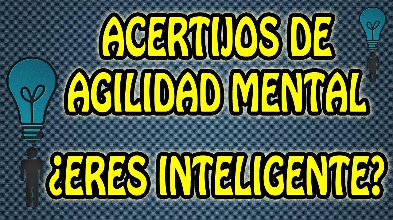 Acertijos De Agilidad Mental Eres Inteligente Juegos De Logica