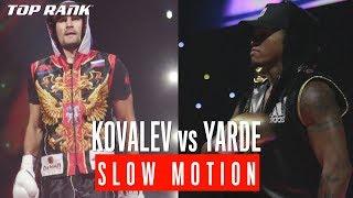 Kovalev vs Yarde: Slow Motion Highlights
