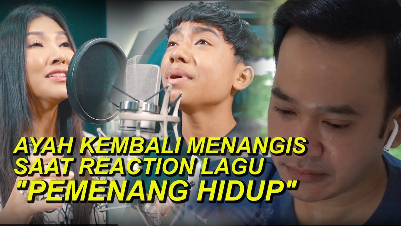 """The Onsu Family - Ayah kembali menangis saat Reaction lagu """"Pemenang Hidup"""""""