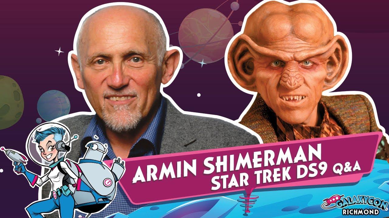 Download Armin Shimerman Q&A at GalaxyCon Richmond 2020