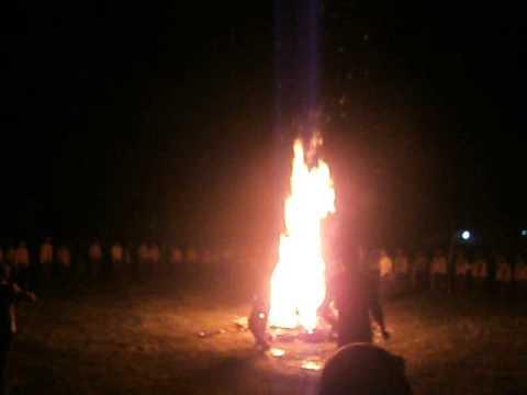 Nyala api unggun