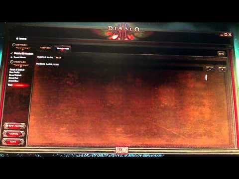 SteelSeries Diablo 3 Headset Software Overview Part 3