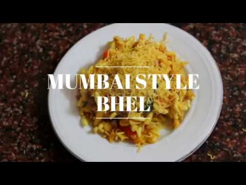Mumbaj Style Bhel Puri, Indian Street Food- Chaat Recipe By Theyellowdaal Recipes