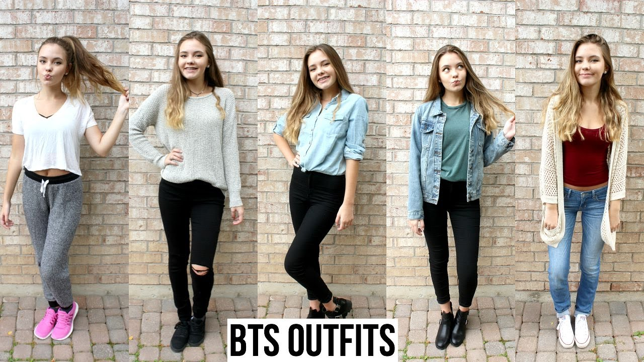 1507697e7bc0 BACK TO SCHOOL OUTFIT IDEAS - YouTube