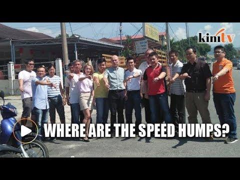 DBKL denies speed humps removed to accommodate Najib's visit