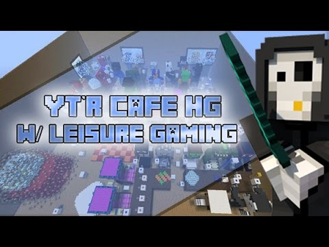 Minecraft Xbox: Youtubers Cafe Hunger Games