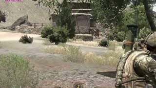 Ex. Heretic III 1/2, arma 2 gameplay
