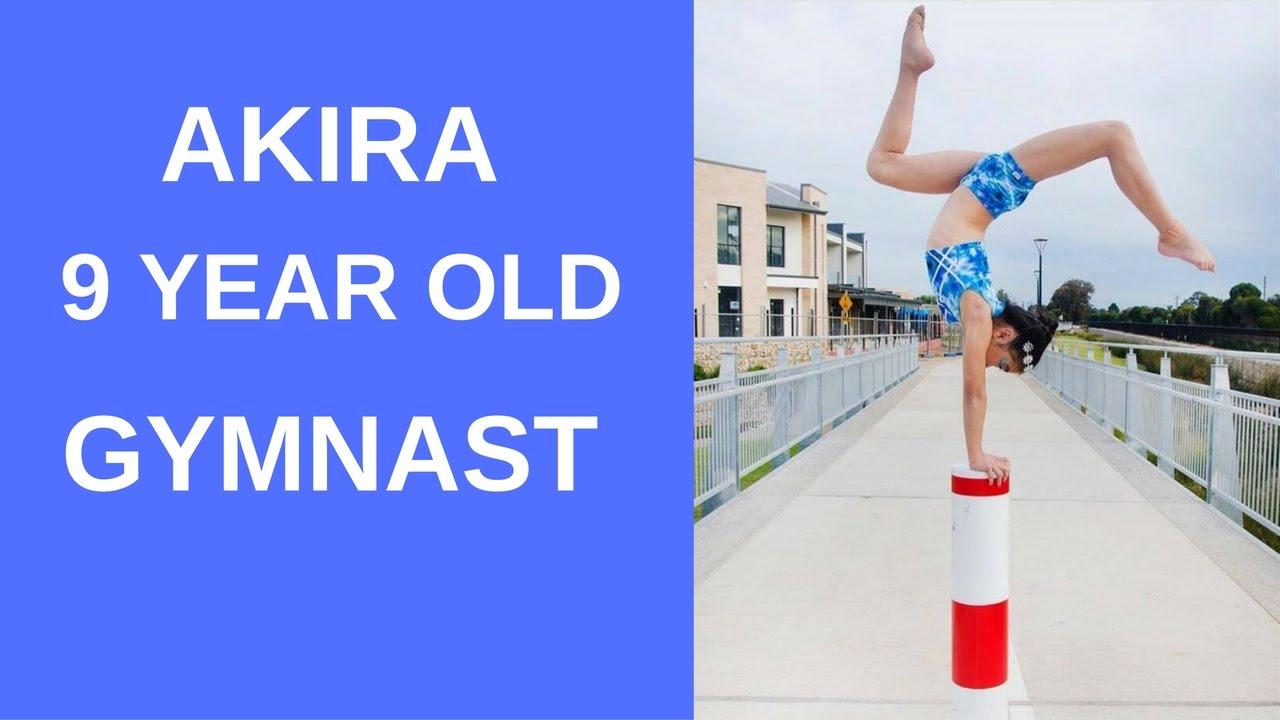 Akira 9 year old gymnast