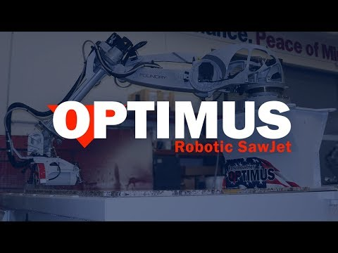 OPTIMUS Robotic SawJet | Next Generation Stone Cutting