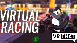 Pokelawls -  VIRTUAL RACING | ft. LIRIK, Shortyy, and GiantWaffle (VRChat Highlights)