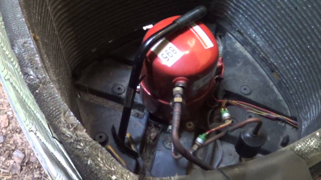 Burnout Compressor Change R410a With Acid Cleanup
