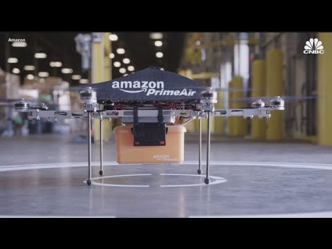 Amazon gets FAA approval to operate a fleet of delivery drones