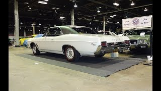1967 Buick GS 400 Sport Coupe in White & Engine Sound on My Car Story with Lou Costabile