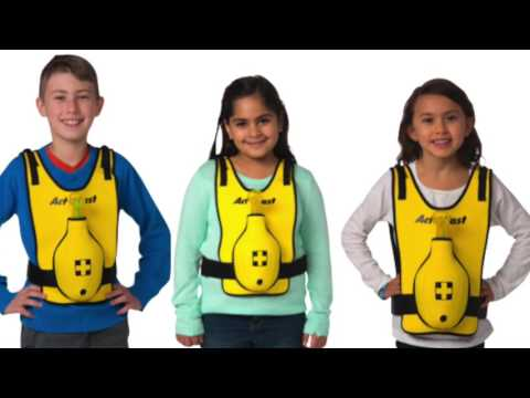 Act+Fast's Choking Rescue Trainer for School Age Children  www.actfastmed.com