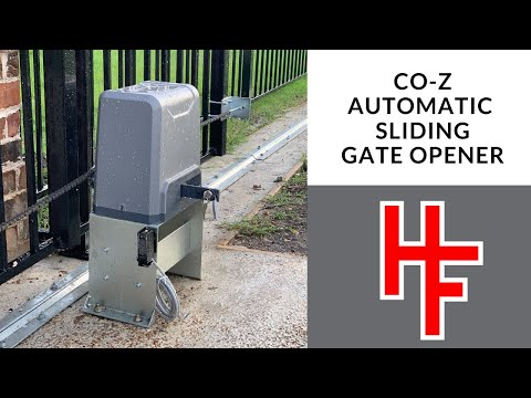CO-Z Automatic Sliding Gate Opener Review